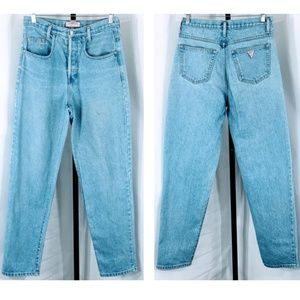 80's Vtg Made in USA High Waisted Guess Jeans